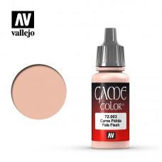 Acrylic Vallejo: Game Color Акриловая краска Pale Flesh (Бледный Телесный). 72003