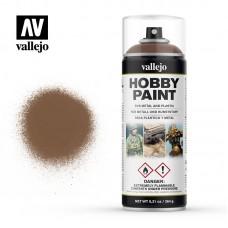 Acrylic Vallejo: Hobby Paint Spray Аэрозоль Beasty Brown (Звериный Коричневый). 28019