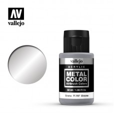 Acrylic Vallejo: Metal Color Акриловая краска Chrome (Хром). 77707