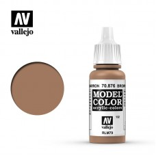 Acrylic Vallejo: Model Color Акриловая краска Brown Sand (Коричневый Песок). 70876