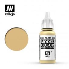 Acrylic Vallejo: Model Color Акриловая краска Beige (Бежевый). 70917