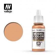 Acrylic Vallejo: Model Color Акриловая краска Flat Flesh (Ровный Телесный). 70955