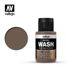 Acrylic Vallejo: Model Wash Акриловая проливка Oiled Earth (Маслянистая Земля). 76521