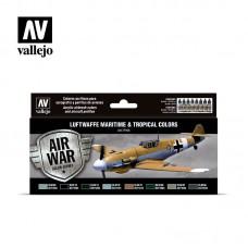 Acrylic Vallejo: Морские и тропические цвета Люфтваффе. 71164