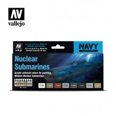 Acrylic Vallejo: Атомные Субмарины. 71611
