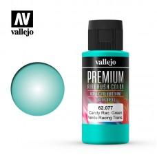 Acrylic Vallejo: Premium Color Акрил-полиуретановая краска Candy Rancing Green (Карамельный Играюще-Зелёный). 62077