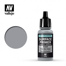 Acrylic Vallejo: Surface Primer Акриловая грунтовка Plate Mail Metal (Металлические Латы). 70628
