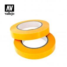 Acrylic Vallejo: Hobby Tools Набор Лент для Масок (Masking Tape 10 мм x 18 м). T07006