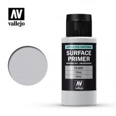 Acrylic Vallejo: Surface Primer Акриловая грунтовка Grey (Серый). 73601