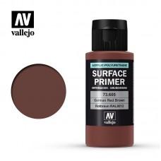 Acrylic Vallejo: Surface Primer Акриловая грунтовка German Red Brown (Немецкий Красно-Коричневый). 73605