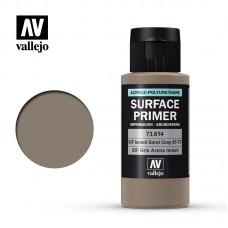 Acrylic Vallejo: Surface Primer Акриловая грунтовка IDF Israeli Sand Grey (61-73) (IDF Израильский Песчаный Серый (61-73)). 73614