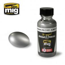 Ammo by Mig Jimenez: Алкидная краска Aluminium (Алюминий) alc101. AMIG8201
