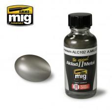 Ammo by Mig Jimenez: Алкидная краска Duraluminium (Дюралюминий) alc102. AMIG8202