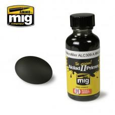 Ammo by Mig Jimenez: Алкидная краска Black Microfiller (Черная грунтовка) alc309. AMIG8211