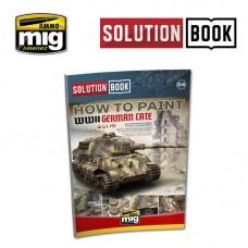 """Ammo by Mig Jimenez: Немецкая наземная техника Late WWII """"Solution Book Multilingual"""" (английская версия). AMIG6503"""