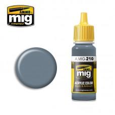 Ammo by Mig Jimenez: Акриловая краска FS 35237 Grey Blue (Серо-синий). AMIG0210