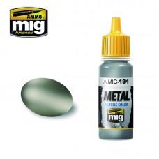 Ammo by Mig Jimenez: Акриловая краска Steel (Сталь). AMIG0191