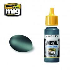 Ammo by Mig Jimenez: Акриловая краска Bluish Titanium (Голубоватый титан). AMIG0193