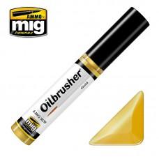 Ammo by Mig Jimenez: Gold (Золото) масляная краска с тонкой кистью аппликатором. AMIG3539