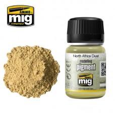Ammo by Mig Jimenez: North Africa Dust (Пигмент Северо-африканская пыль). AMIG3003