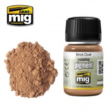 Ammo by Mig Jimenez: Brick Dust (Пигмент Кирпичная пыль). AMIG3015