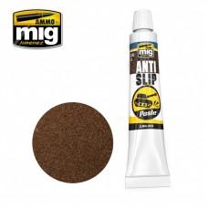 Ammo by Mig Jimenez: Anti-Slip Paste (Анти-Скользящая Паста, Коричневая для 1/35 масштаба). AMIG2035