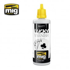Ammo by Mig Jimenez: Matt Lucky Varnish (Матовый лак). AMIG2051