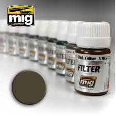 Ammo by Mig Jimenez: Dark Grey for White (Фильтр Темно-серый для белого). AMIG1502