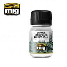 Ammo by Mig Jimenez:  Еnamel Odorless Thinner (Растворитель для эмали 35 мл.). AMIG2018