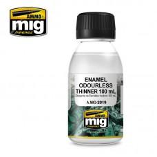Ammo by Mig Jimenez:  Еnamel Odorless Thinner (Растворитель для эмали 100 мл.). AMIG2019