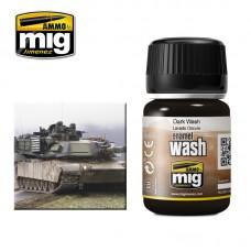 Ammo by Mig Jimenez: Dark Wash (Смывка для темных типов камуфляжа). AMIG1008