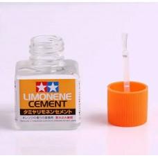 Tamiya Клей для пластиковых моделей, с кистью (Limonene Cement) 40 мл. № 87113
